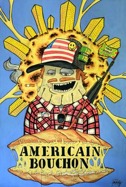 L'américain Bouchon